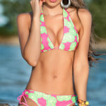 Mapale Swim & Beachwear Bikini Top with American Cut Bottom