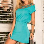 Mapale Swim & Beachwear Blouson Fit Beach Mini Dress