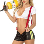 Mapale by Espiral Sassy Hero Firefighter 4 Pce Costume