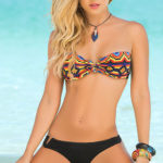 Mapale Swim & Beachwear 2 Pce Tribal Inspired Bikini