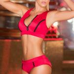 Mapale Swim & Beachwear 2 Pce Sporty Bikini with Brief Bottom