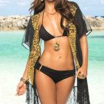 Mapale Swim & Beachwear Sheer Kimono