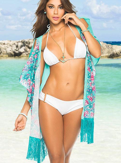 Mapale Swim & Beachwear Beach Kimono