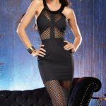 Dreamgirl Black Bodycon Dress