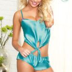 Dreamgirl Satin Cami with Shorts