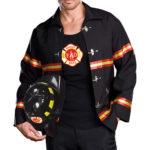 Dreamgirl 3 Pce Fireman Costume