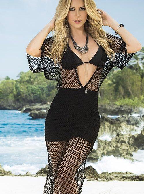 Mapale Swim & Beachwear Crotchet Beach Maxi Dress