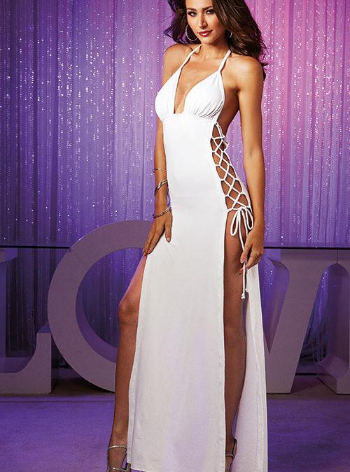 Dreamgirl Erotic Halter Long Dress